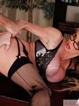 Mature taylor wane fucking in the desk with her glasses in my first sex teacher